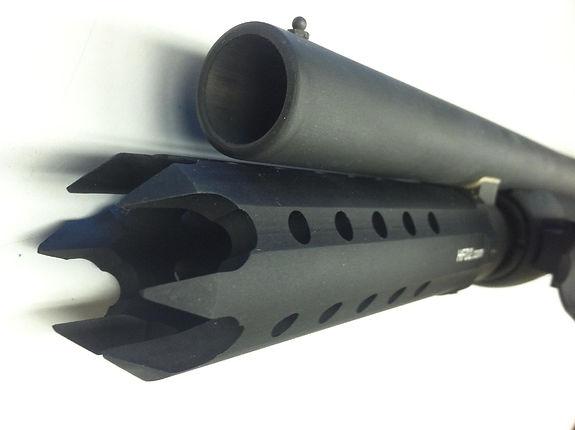 actical AR AK shotgun standoff breacher brake follower