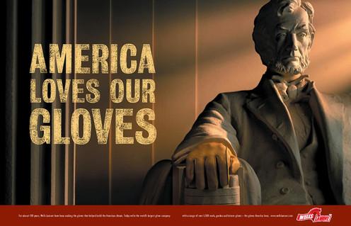 Wells Lamont Gloves Ad
