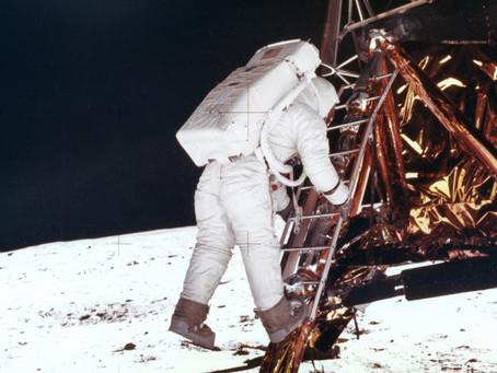 #2. Walking on the moon.