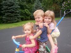 Nora, Carson and Ella