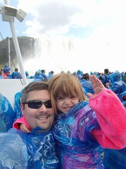 Nora at Niagara Falls