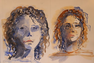 Study of girl - watercolour.JPG