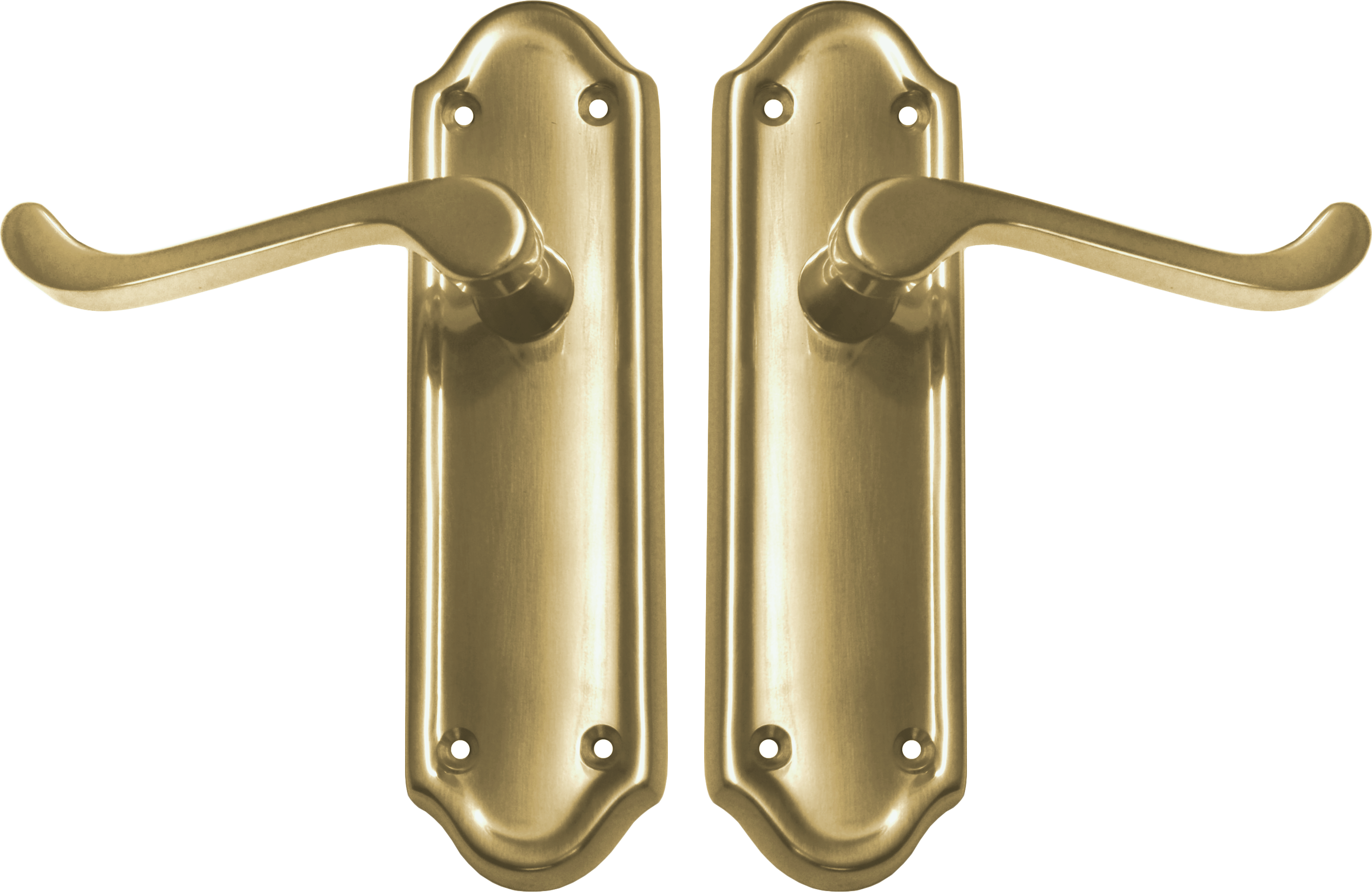 Napoli Lever Latch Set (pb)