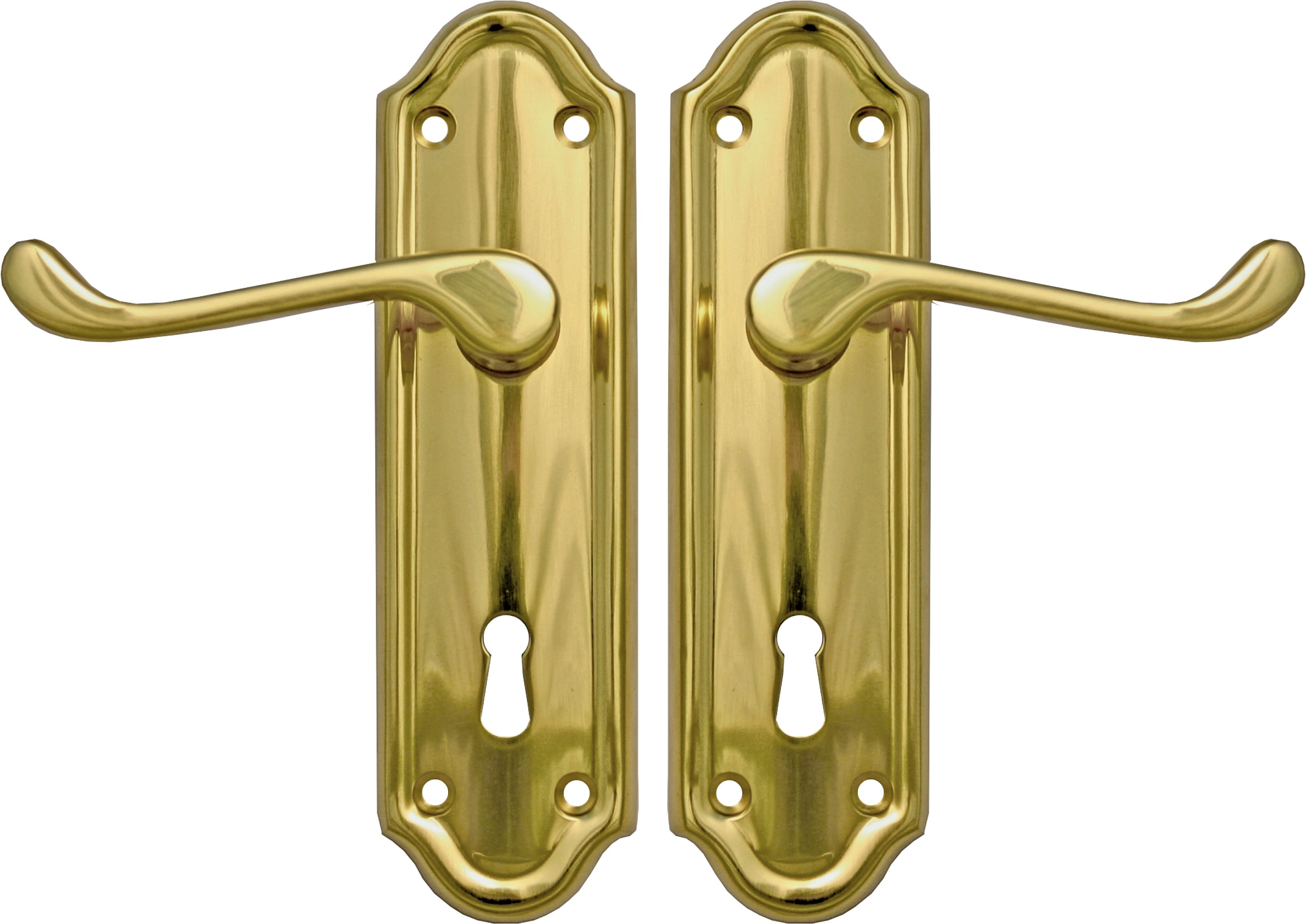 Napoli Lever Lock Set (pb)