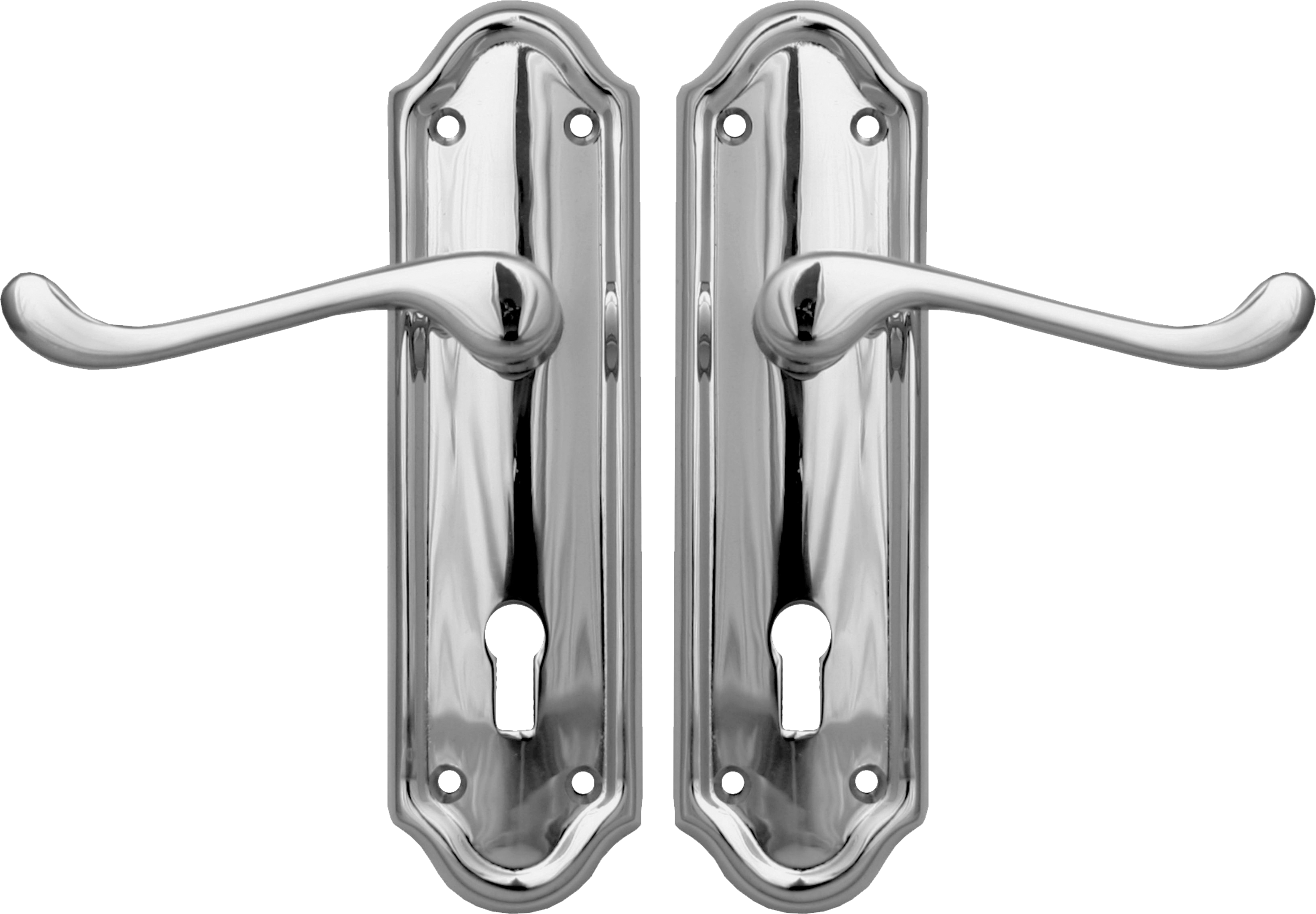 Napoli Lever Lock Set