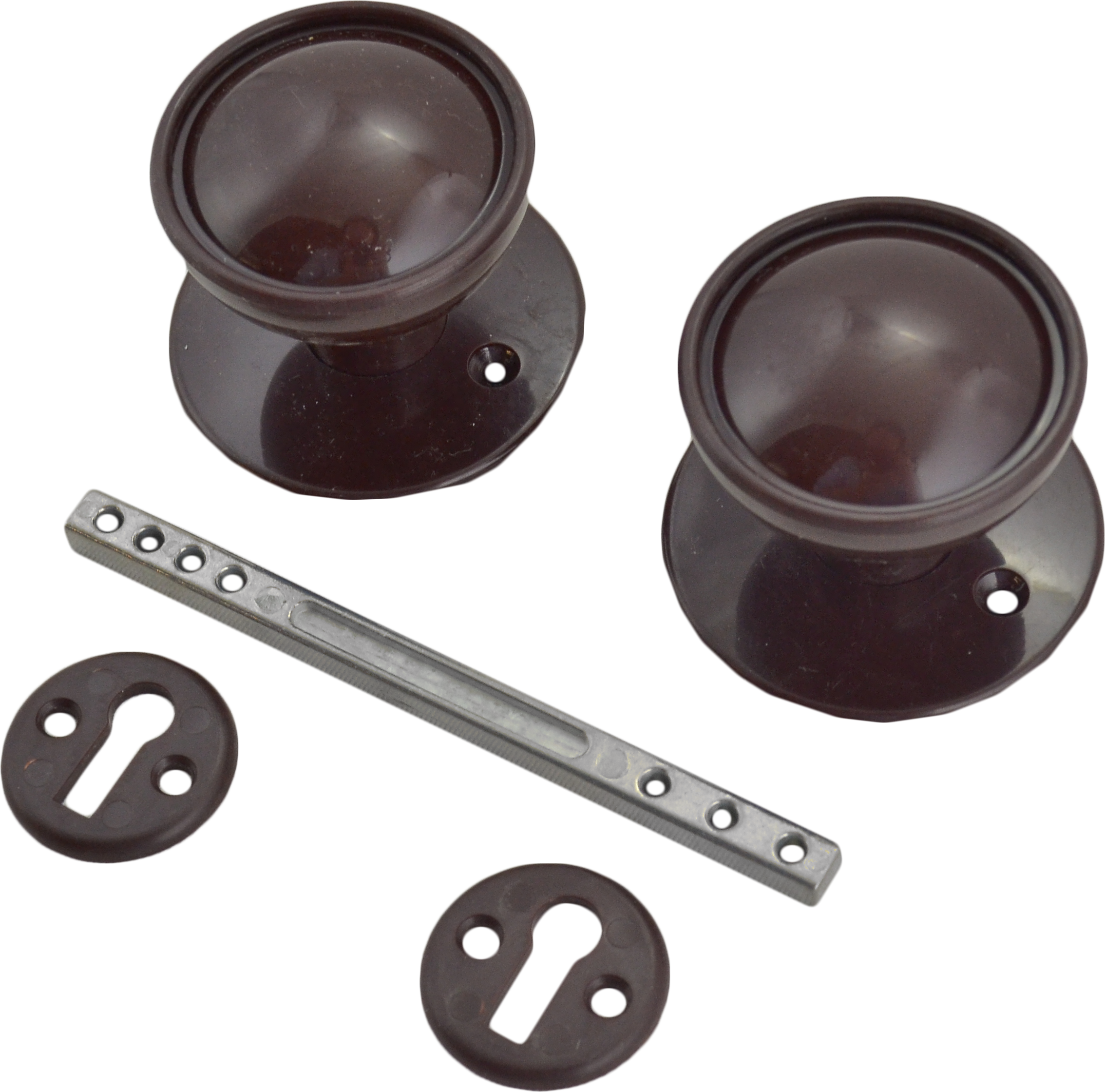 Plastic Rim Lock Set