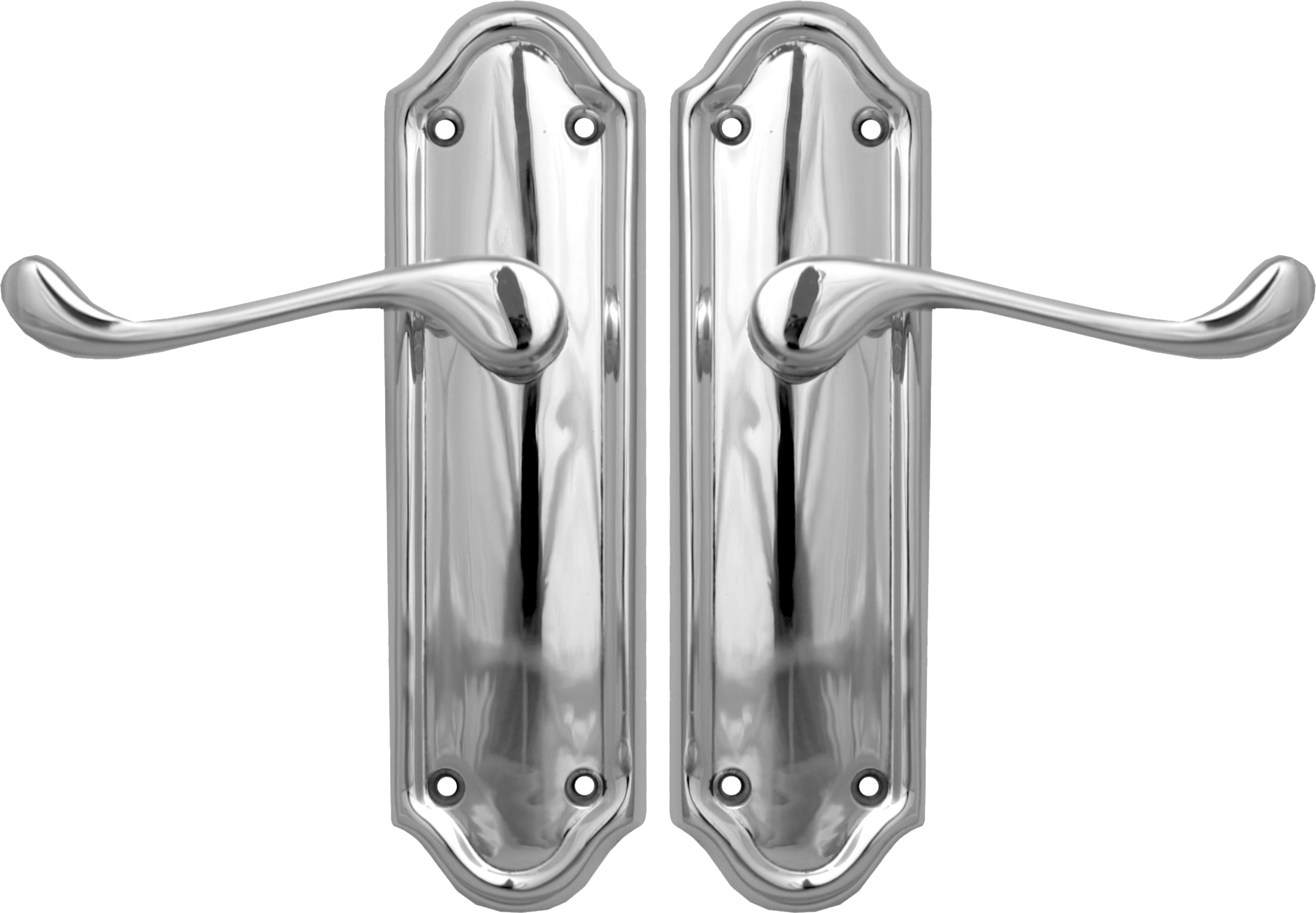 Napoli Lever Latch Set