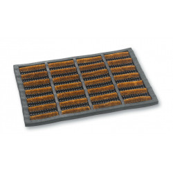 Dirtstopper Cocobrush and Rubber Mats