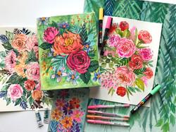 Floral-Paintings