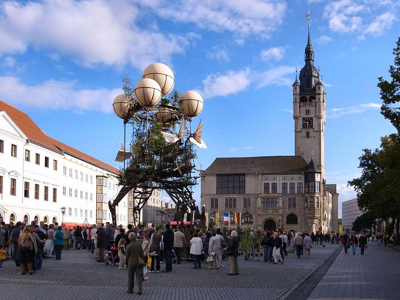 Sculpture pour le voyage à Nantes