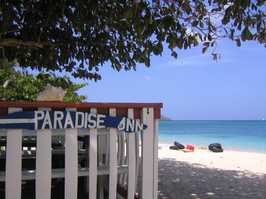 Paradise beach in Carriacou