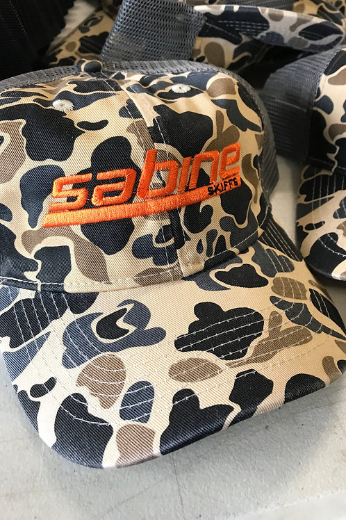 Old School Camo Sabine Hat