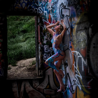 Photographer: Marcus Arbelbide Body Paint Artist: Gabe Flores
