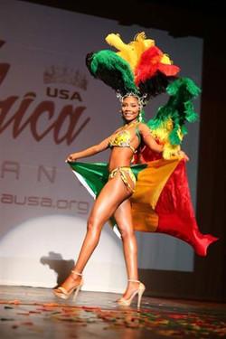 Miss Africa republic of congo