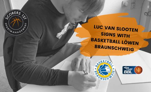 van Slooten joins Basketball Löwen Braunschweig