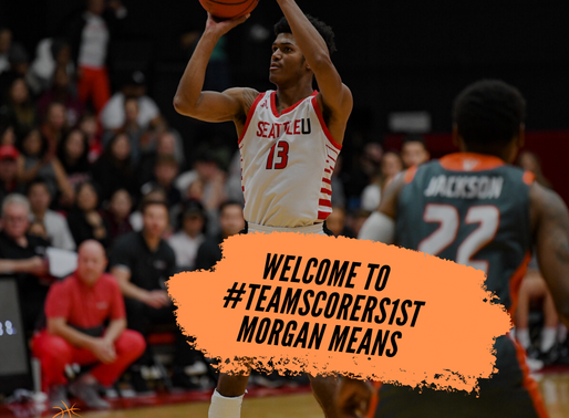 Morgan Means joins Scorers 1st