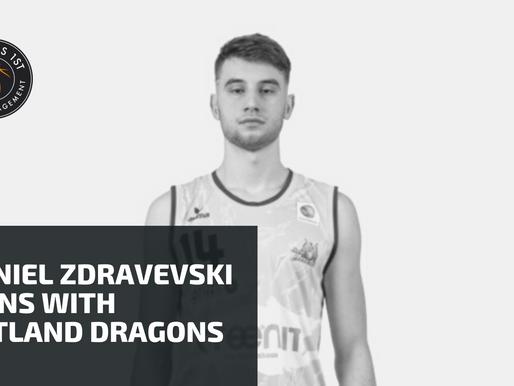 Daniel Zdravevski signs with Artland Dragons