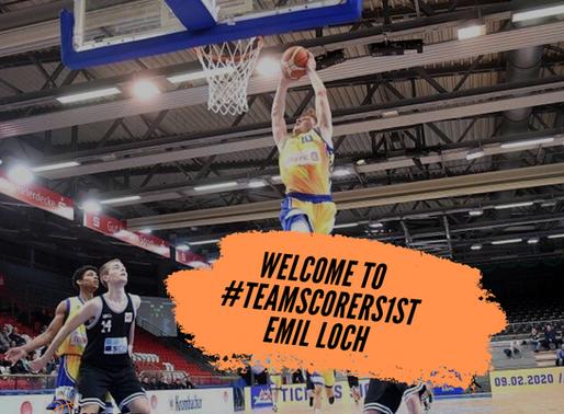 German Forward Emil Loch joins #TeamScorers1st