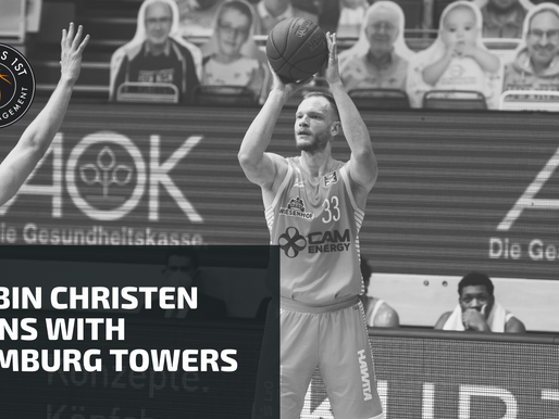 Robin Christen signs with Hamburg Towers