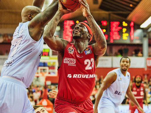 Larry Gordon helps his Giessen 46ers to 89:83 home win in BBL action
