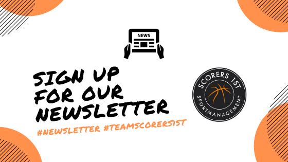 Scorers 1st Newsletter