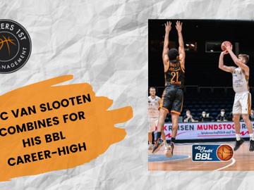 Luc van Slooten with BBL career-high in Braunschweig home win