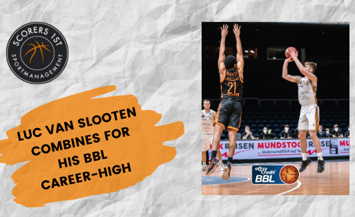 Luc van Slooten with BBL career-high in Braunschweig home win