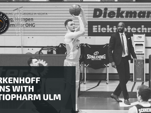 Philipp Herkenhoff signs with ratiopharm Ulm