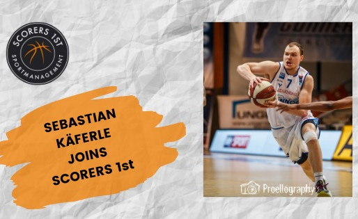 Austrian Point Guard Sebastian Käferle joins Scorers 1st