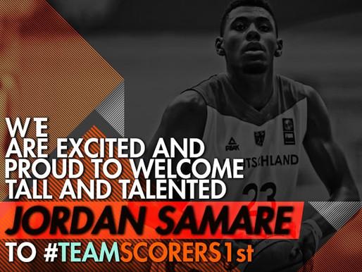 German U18 Power Forward Jordan Samare joins Scorers 1st