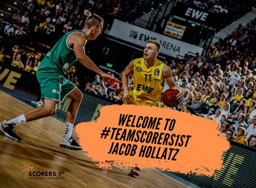 Jacob Hollatz joins Scorers 1st