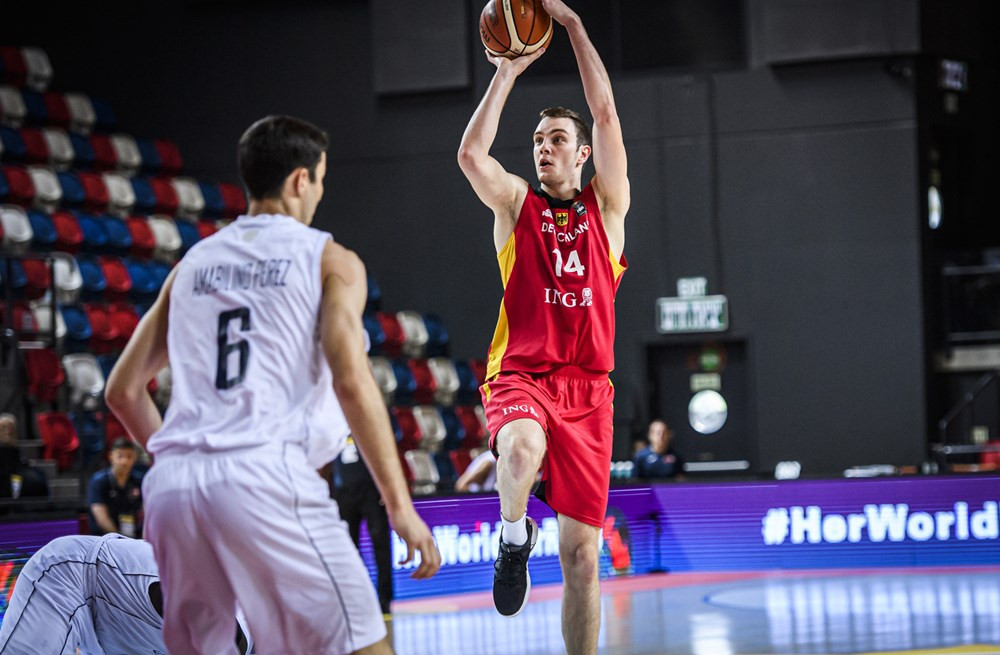 Philipp Herkenhoff vs. Great Britain - Photo Credit: FIBA