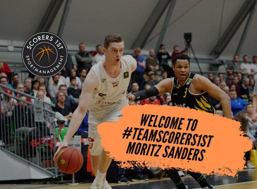 Moritz Sanders joins Scorers 1st