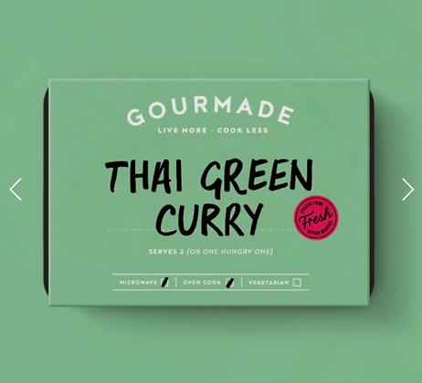 Gourmade Thai Green Curry serves 1