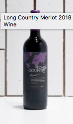 Long Country Merlot, 2018