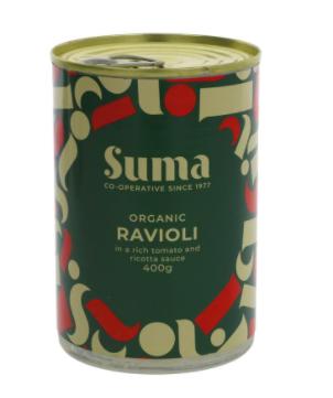 Suma Organic Ricotta Ravioli