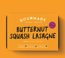 Gourmade Butternut Squash Lasagne serves 2