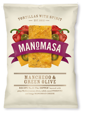 Manomasa Manchego & Green Olive Tortillas