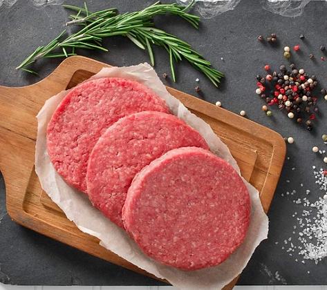 Beef Burgers x4