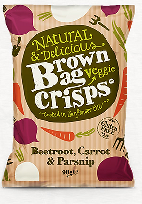 Brown Bag Vegetable Crisps