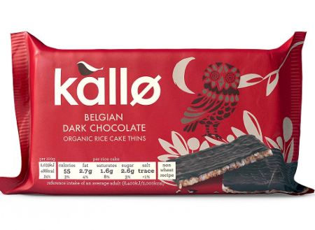 Kallo Dark Chocolate Rice Cakes