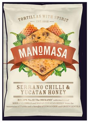 Manomasa Serrano Chilli & Yucatan Honey