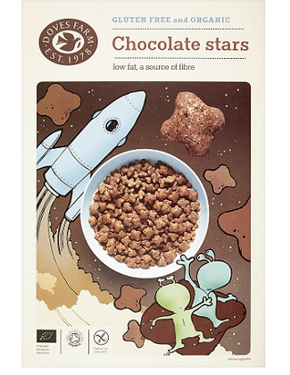 Doves Chocolate Stars GF