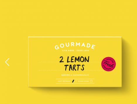 Gourmade Lemon Tarts