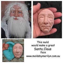 Santa Claus mold