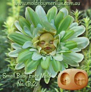 Baby Face Flower Fairy +Silicone Mold