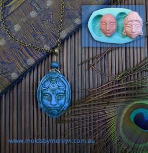 Buddha silicone craft mold