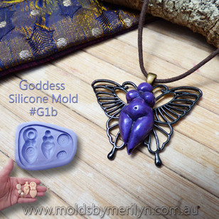 Butterfly and Goddess Pendant