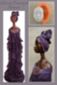 Paverpol African Lady Tutorial
