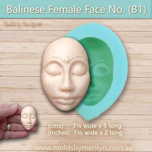 B1 - Balinese  flexible push mold